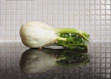 Finocchio sul contatore di cucina Fotografie Stock