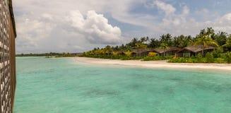 Finolhu, Gasfinolhu海岛,马尔代夫2016年6月 免版税库存照片