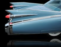 Fins of 1959 Cadillac Eldorado royalty free stock image