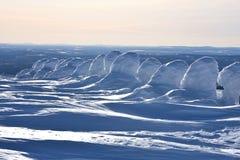 Fins Lapland stock fotografie
