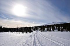 Fins Lapland stock afbeeldingen