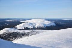 Fins Lapland stock foto