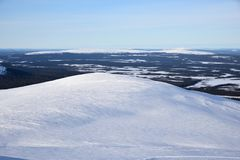 Fins Lapland royalty-vrije stock foto's