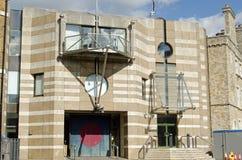 Современное здание на казармах Finsbury, Лондон Стоковые Фотографии RF