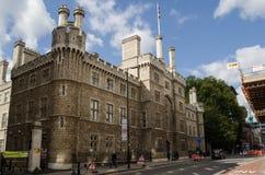 Finsbury baracker, London Fotografering för Bildbyråer
