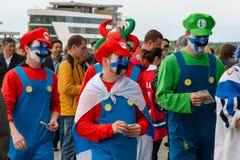 Finse Ventilators voor de Arena van Minsk Royalty-vrije Stock Foto's
