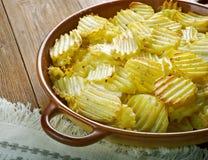 Finska bakade potatisar fotografering för bildbyråer