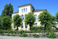 fint hus arkivfoton