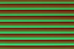 Fint ljust mörker - grön rödaktig grönaktig jalousiepersienn w Arkivbild