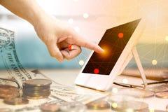 Fintech和创新 免版税图库摄影