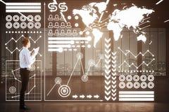 Fintech concept Stock Photo