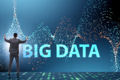 The fintech financial big data concept with analyst. Fintech financial big data concept with analyst stock images