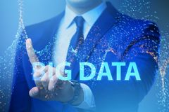 The fintech financial big data concept with analyst. Fintech financial big data concept with analyst royalty free stock photo