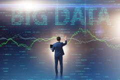 The fintech financial big data concept with analyst. Fintech financial big data concept with analyst royalty free stock photography