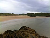 Fintra straights. Fintra beach, Killybegs, Co Donegal, Ireland Royalty Free Stock Image