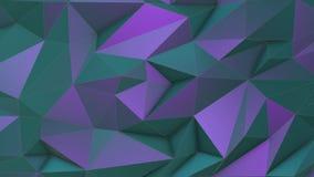 Fiołka piękna trójboka niski poli- tło ilustracji