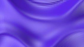 Fiołkowa lub purpurowa niska poli- falowanie powierzchnia jako cybernetyczny środowisko Fiołkowy geometryczny rozedrgany środowis royalty ilustracja