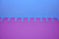Fiołkowy i błękitny tło zdjęcie stock