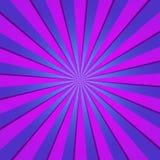 Fiołkowy promieniowy retro tło Fiołkowa i błękitna spirala abstrakta i gradientu, starburst wektor eps10 ilustracji