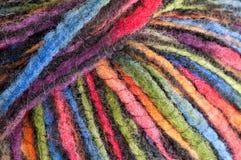 Fio colorido - teste padrão/fundo Imagens de Stock