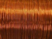 Fio de cobre Imagens de Stock Royalty Free