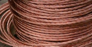 Fio de cobre Fotografia de Stock Royalty Free