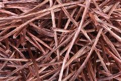 Fio de cobre da sucata para reciclar fotografia de stock royalty free