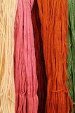 Fio de lãs colorido Imagem de Stock