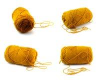 Fio do marrom amarelo Imagem de Stock Royalty Free