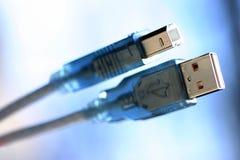 Fio do USB Imagens de Stock Royalty Free
