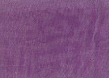 Fiołkowa drelichowa tekstylna tekstura Zdjęcia Royalty Free