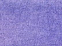 Fiołkowa drelichowa tekstylna tekstura Zdjęcie Royalty Free