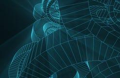 Fio robótico Mesh Background Imagens de Stock