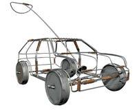 Fio Toy Car Perspective Imagem de Stock Royalty Free