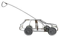 Fio Toy Car Side Imagem de Stock