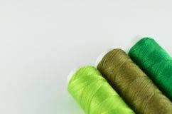 Fio verde   Imagem de Stock Royalty Free