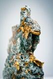Fiocchi dell'oro Immagini Stock Libere da Diritti
