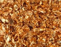 Fiocchi dell'oro Immagine Stock Libera da Diritti