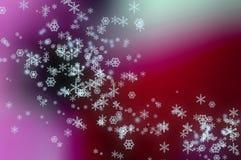 Fiocchi della neve Fotografia Stock Libera da Diritti