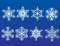 Fiocchi della neve Fotografia Stock