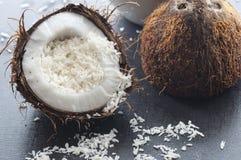 Fiocchi della noce di cocco Immagine Stock