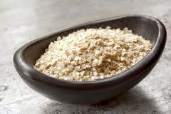 Fiocchi della quinoa Fotografie Stock Libere da Diritti