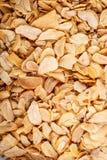 Fiocchi di aglio disidratato Immagine Stock Libera da Diritti