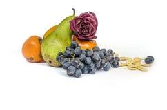 Fiocchi di granturco sani di frutti di cibo Fotografia Stock