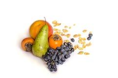 Fiocchi di granturco sani di frutti di cibo Immagini Stock