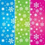 Fiocchi di neve 1 Fotografie Stock