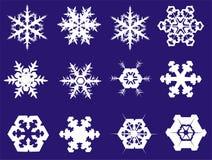 Fiocchi di neve royalty illustrazione gratis
