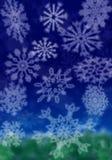 Fiocchi di neve Fotografia Stock Libera da Diritti