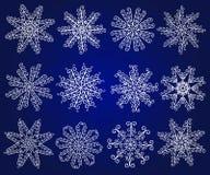 Fiocchi di neve. Immagine Stock