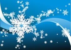 Fiocchi di neve Immagini Stock Libere da Diritti